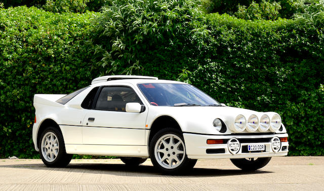 1,095 miles from new,1986 Ford RS200 Coupé  Chassis no. SFACXXBJZCGL00156 Engine no. GL00156