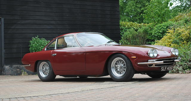 Originally the property of Sir Paul McCartney,1967 Lamborghini 400GT 2 2  Chassis no. 1141  Engine no. 1139