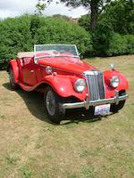 1954 MG TF Series,