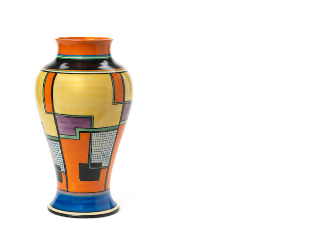 Large Clarice Cliff vase