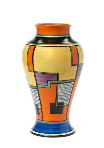 Large Clarice Cliff vase
