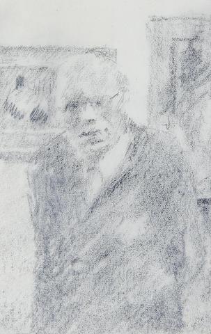 Walter Richard Sickert A.R.A. (British, 1860-1942) Portrait of Sir  Alec Martin