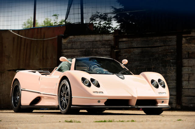 One owner from new,2004 Pagani Zonda C12 7.3-Litre Roadster   Chassis no. ZA9C820C110F76041 Engine no. 12098312032119E100