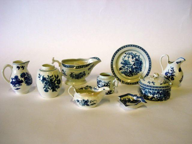 A collection of various Worcester items