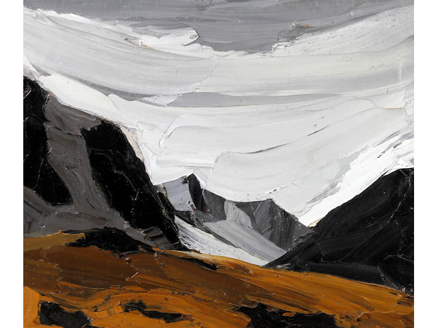 Sir Kyffin Williams (British, 1918-2006) 'Snowdonia'