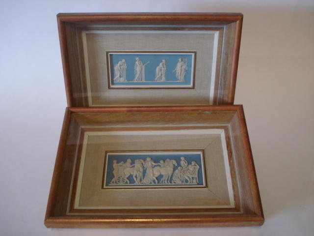 Two Wedgwood Jasper plaques Late 19th Century