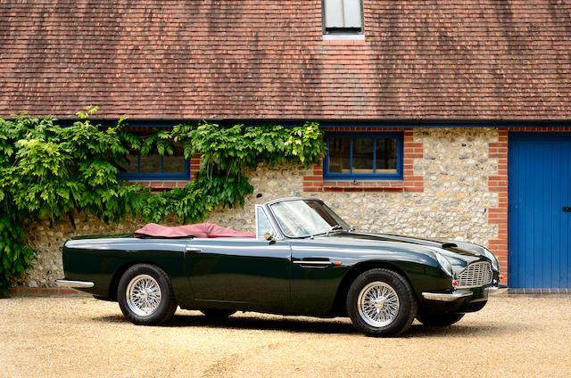 Bonhams 1967 Aston Martin Db6 Volante Convertible To Vantage Specification Chassis No Dbvc 3651 R Engine No 400 3136