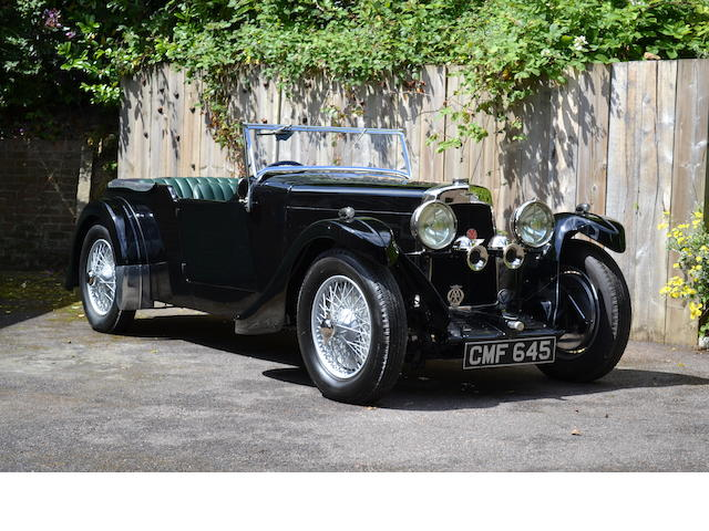 1933 Aston Martin 12/50hp '2nd Series' Tourer  Chassis no. D3/249/L Engine no. D-3-249