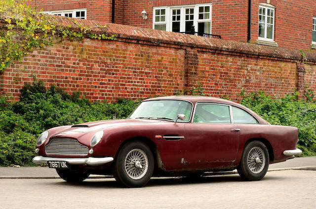 40 years in the current ownership,1963 Aston Martin DB5 Sports Saloon  Chassis no. DB5/1316/R Engine no. 400/1643