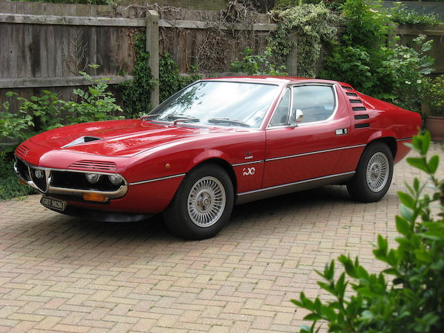 Formerly the property of Simon and Yasmin Le Bon,c.1974 Alfa Romeo Montreal Coupé  Chassis no. 1440252 Engine no. AR10564/50092