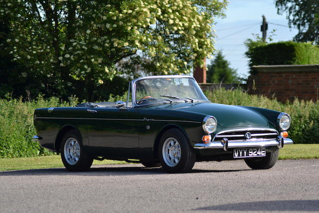 1966 Sunbeam Tiger MkI Roadster  Chassis no. B382002095LRXFE