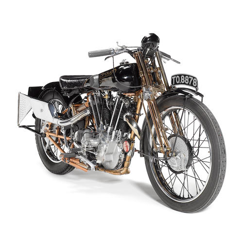1928 Brough Superior 1142cc SS100 'Moby Dick'