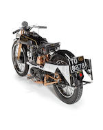 1928 Brough Superior SS100 'Moby Dick' Frame no. 993 Engine no. JYO/C 20728/T