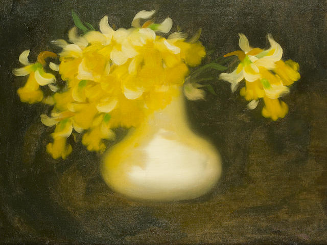 James Stuart Park (British, 1862-1933) Daffodils 58.5 x 76.5 cm. (23 x 30 in.)