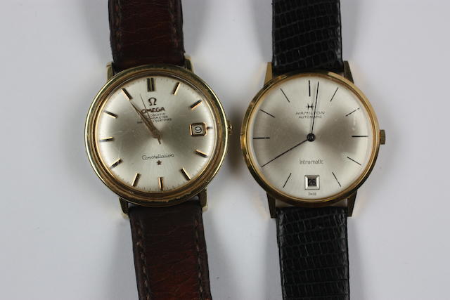 Omega, Constellation: A gentleman's calendar wristwatch(2)