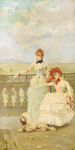 Vittorio Matteo Corcos (Italian, 1859-1933) Neapolitan Beauties