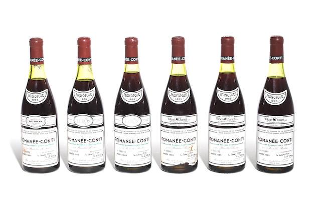 Romanée-Conti 1985 (1)<BR>Romanée-Conti 1985 (2)<BR>Romanée-Conti 1985 (3)
