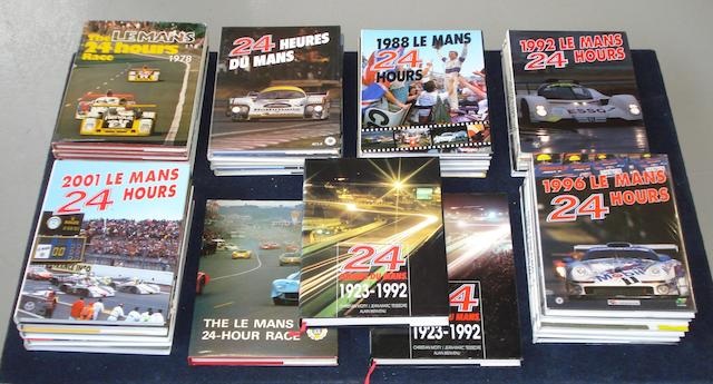 A run of Le Mans 24 Hours annuals; 1978 to 2006,