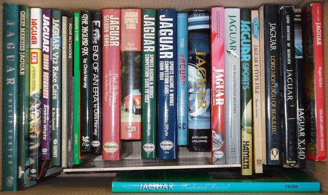A quantity of Jaguar books,