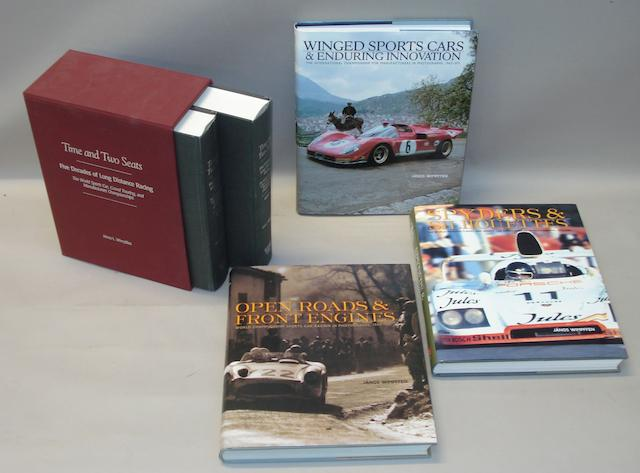 Janos L Wimpffen: Time and Two Seats; Volumes I & II, and three other motorsport books,
