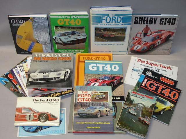 Books relating to Ford GT40,