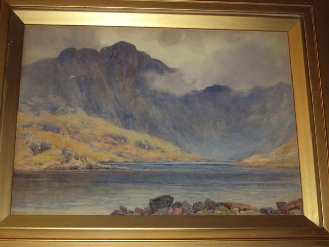 Josiah Clinton Jones (British, 1848-1936) 'Cwm Idwal'