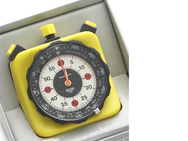 Heuer. A plastic dashboard timer Roadmaster