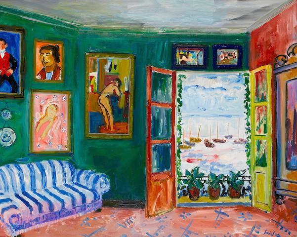 Carlos Nadal (1917-1998) Fenêtre ouverte