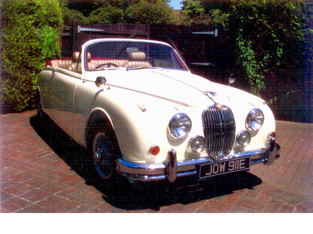 1967 Jaguar Mk2 3.8-Litre Sports  Chassis no. 120754DN Engine no. LC76888