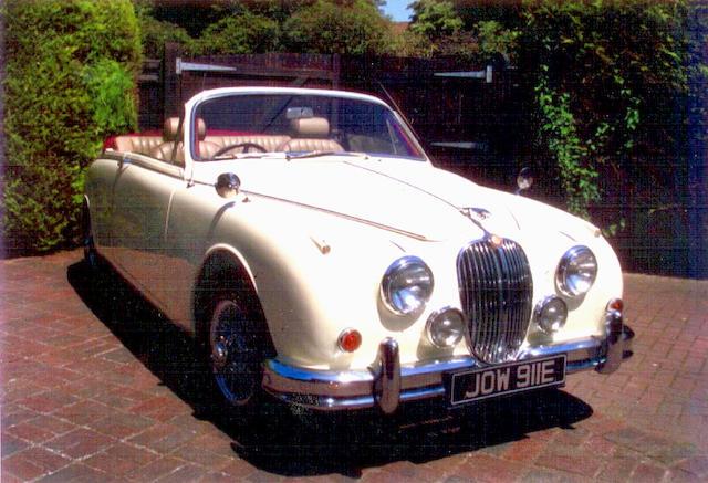 1967 Jaguar Mk2 3.8-Litre Sports  Chassis no. 120754DN Engine no. LC76888
