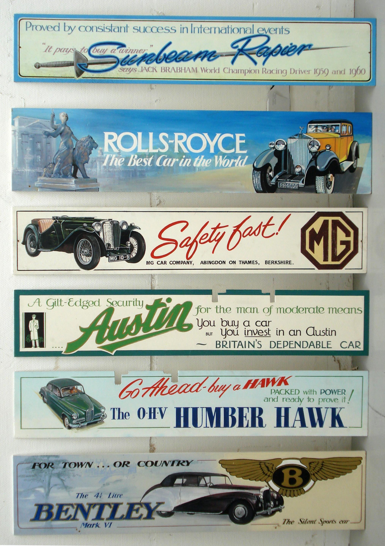 Bentley Motors 186 Vintage Garage Classic Car Advertising Small Metal Tin Sign
