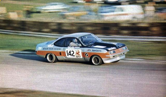 The ex-Gerry Marshall, Dealer Team Vauxhall, Forward Trust Special Saloon Car Championship-winning,1971 Vauxhall Firenza Competition Saloon 'Old Nail'  Chassis no. WBB506 Engine no. 22001