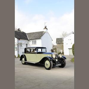 From the collection of the late Jack Tattersall,1931 Rolls-Royce 40/50hp Phantom II Saloon Limousine  Chassis no. 9GX  Engine no. GE55