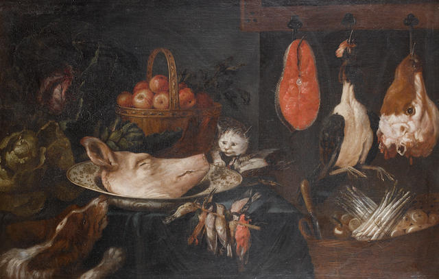 Circle of Adriaen van Utrecht (Antwerp 1599-1653) Still life of game
