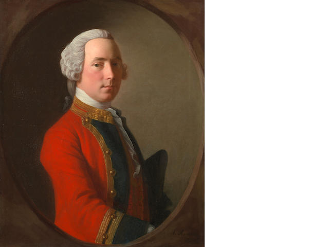 Allan Ramsay (Scottish, 1713-1784) Lieutenant John Abercrombie (d.1758) of the 1st Foot, The Royal Regiment
