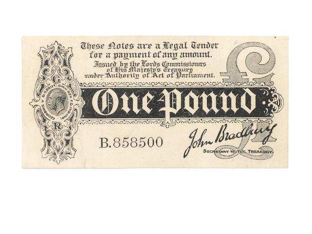 John Bradbury One Pound B858500