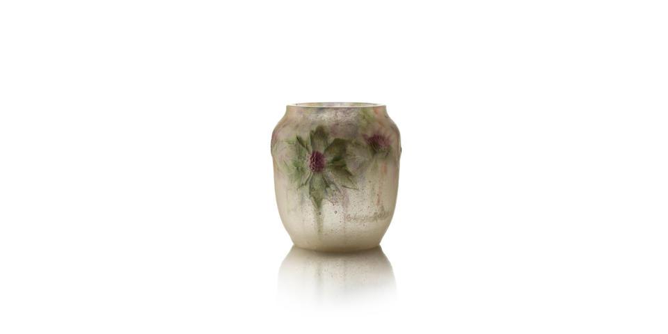 A Pâte-de-vere vase by Argy-Rousseau Circa 1920