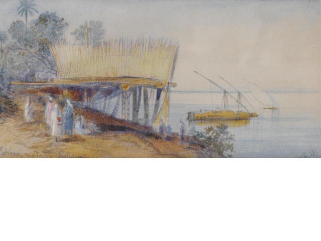 Edward Lear (British, 1812-1888) Sakkia, near Toske