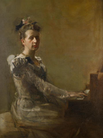 Sir James Guthrie, PRSA HRA RSW LLD (British, 1859-1930) Miss Isabella H. Gardiner
