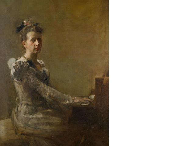 Sir James Guthrie, PRSA HRA RSW LLD (British, 1859-1930) Miss Isabella H. Gardiner
