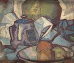 Samuel John Peploe, RSA (British, 1871-1935) 46 x 40.5 cm. (18 1/8 x 15 15/16 in.)