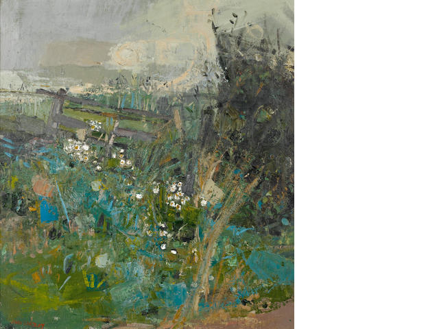 Joan Kathleen Harding Eardley, RSA (British, 1921-1963) Flowers by the Wayside 61 x 56 cm. (24 x 22 in.)