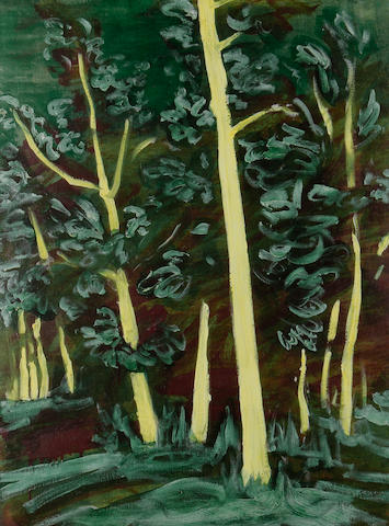 Sigrid Holmwood (British, born 1978) 'Birch Wood', 2006