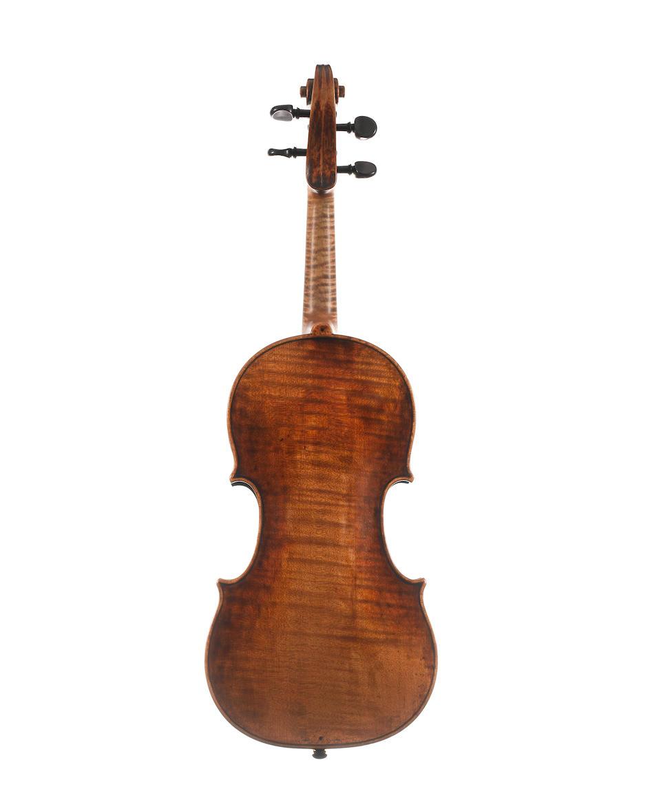 An Italian Violin, ascribed to Joseph Guarnerius filius Andreas, (1)