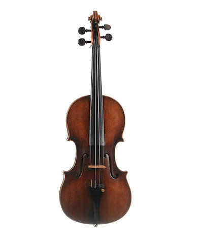 An Italian Violin, ascribed to Joseph Guarnerius filius Andreas, (1)