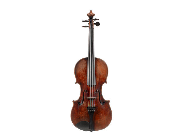 A French Violin attributed to Paul Bailly circa 1890 (2)