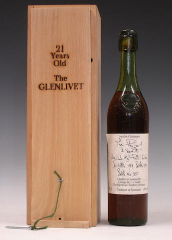 The Glenlivet-21 year old-1963