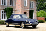 1963 Citroën DS Décapotable  Chassis no. 3281537 Engine no. 0652012652