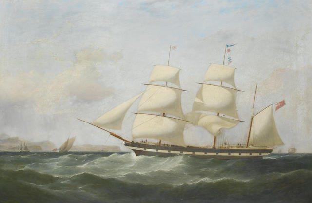 Samuel Walters (British, 1811-1882) The barque Walter Morrice off Point Lynas, 1847 ?????????