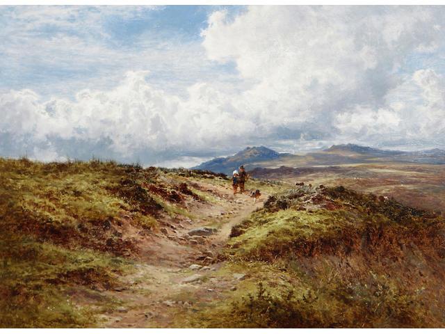 Benjamin Williams Leader, RA (British, 1831-1923) A view of Dartmoor